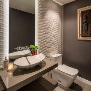 Дизайн туалета 2019: современный красивый интерьер и актуальные идеи оформления своими руками (115 фото)