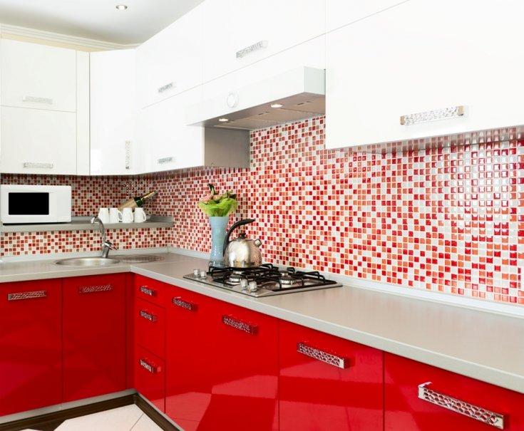 Мозаика для кухни - 135 фото реальных интерьеров с красивой мозиакой