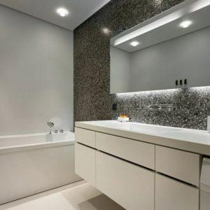 Ванная в стиле минимализм: идеи дизайна
